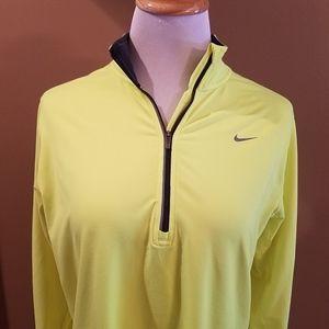 Nike Running Dri-Fit half zip long sleeve shirt